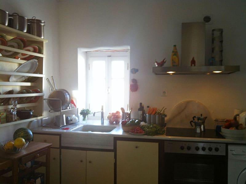 Azur house Greece Kitchen
