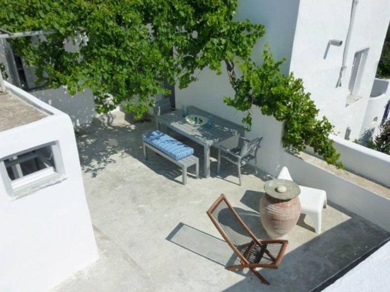 azur house Greece terrace with chairs
