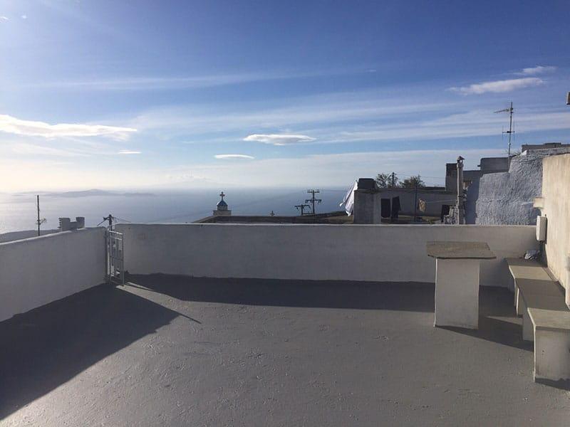 azur house Greece terrace